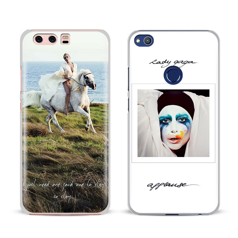 Lady JOANNE GAGA Fashion Cover Shell For Huawei P8 9 10 Lite 2017 Honor 6x 8 V8 V9 v10 Mate 7 8 9 10 Pro Nova Plus 2 Phone Case