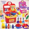 Игрушки, детские Игрушки, косплей Волшебная Кухня Simulation Игровые Наборы Детские Комбинация Бесплатная Доставка