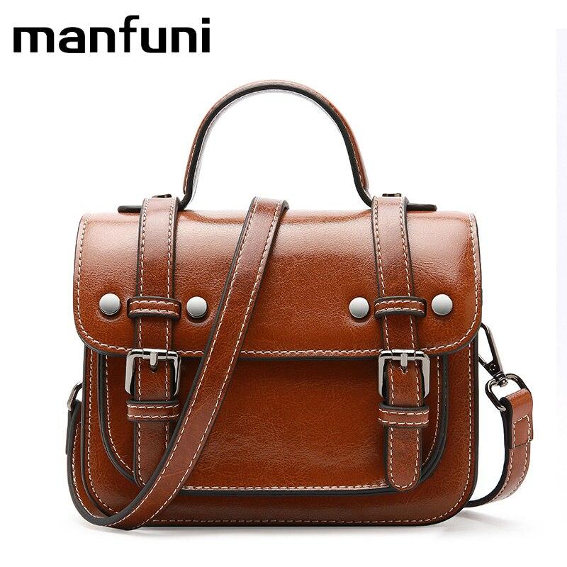 где купить 100% Genuine Leather handbags Women Famous Brand Women Messenger Bags High Quality Women Bag Leisure Female Cross-body Bag Tote по лучшей цене