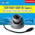 Заводской производитель металлический корпус не водонепроницаемая автомобильная камера 3 дюйма серебристо-серый корпус полушария IPC1080P но...