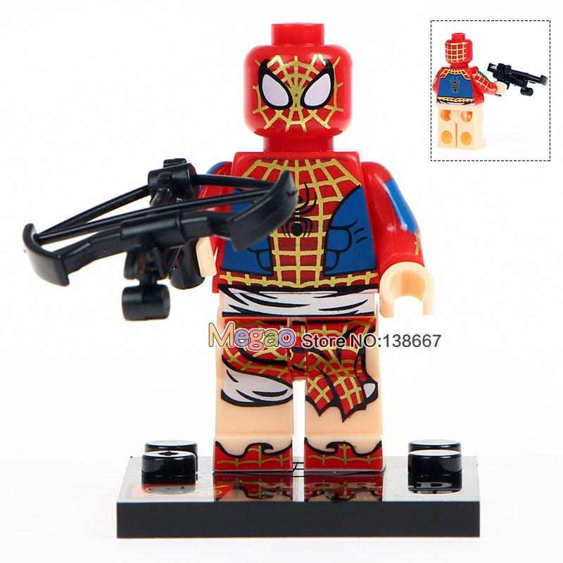 10Lots de SY674 Marvel Spiderman Set Venom Carnage fer Spider Man 2099 blocs de construction ensembles modèle briques jouets Spider Man-in Blocs from Jeux et loisirs    3