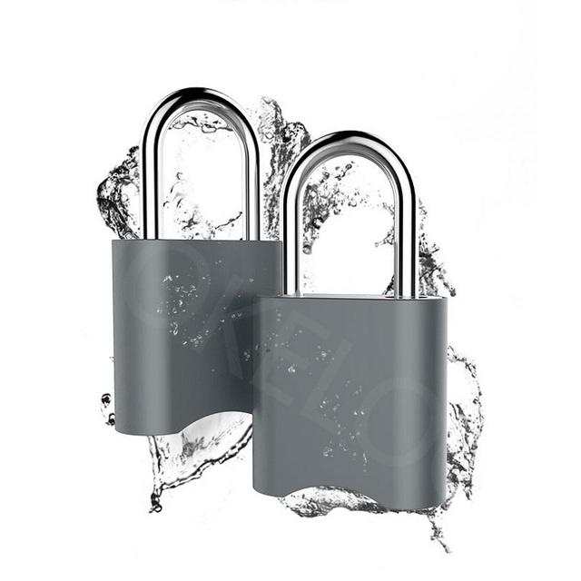 wdskivi Password Keyless Mini Smart Lock Bluetooth Lock Electronic lock Waterproof Unlock Padlock Door Lock For Mobile Phone App