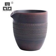 TANGPIN chinese ceramic tea pitchers tea infusers chahai gongdaobei kung fu tea accessories 220ml tangpin coffee and tea tools beauty yixing purple clay tea strainers kung fu tea accessories