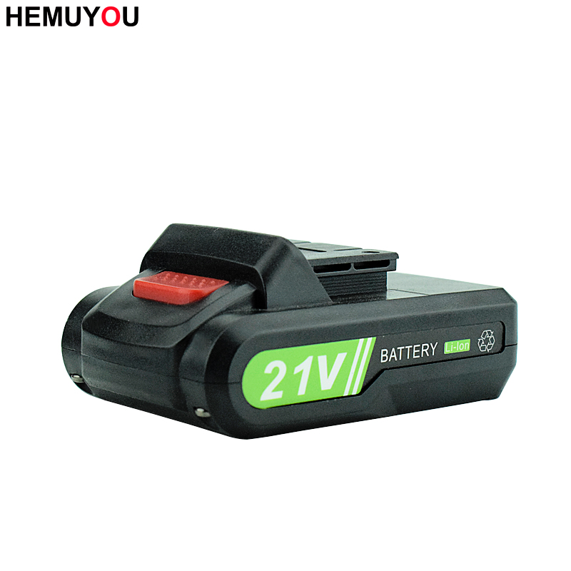 21V Household High Quality Rechargeable Lithium Ion Battery Can Be Used For  Electric Screwdriver Electric Drill  Power Tools|Electric Screwdrivers| |  - title=