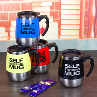 Smart Automatic Self Stirring Mug Coffee Mixing Stainless Steel Thermal Milk Cup Electric Lazy Coffee Mugs