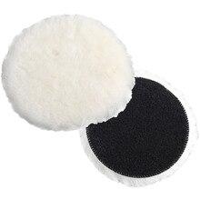 3/4/5/6/7 Polisher Buffer Wool Buffing Clean Pad Magic Patch Car Detailing Polishing