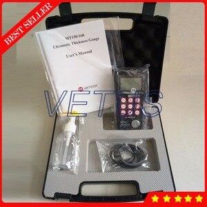 Medidor de espesor de vidrio cerámico plástico de Metal ultrasónico medidor MT160 con 4,5 dígitos LCD EL medidor de espesor de retroiluminación