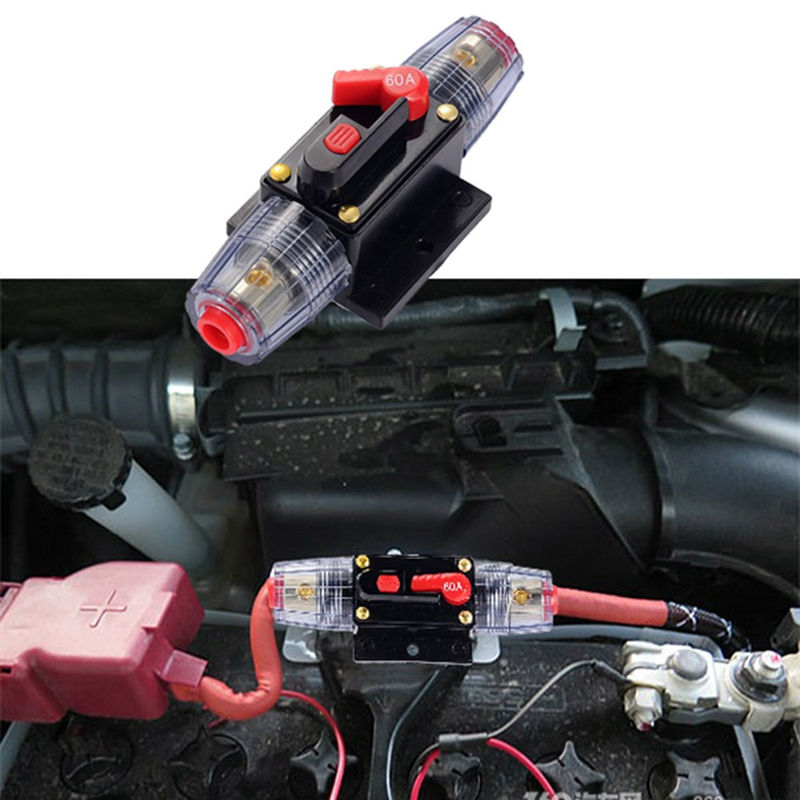 youwinme 60a car audio fuse holder refit for auto truck. Black Bedroom Furniture Sets. Home Design Ideas