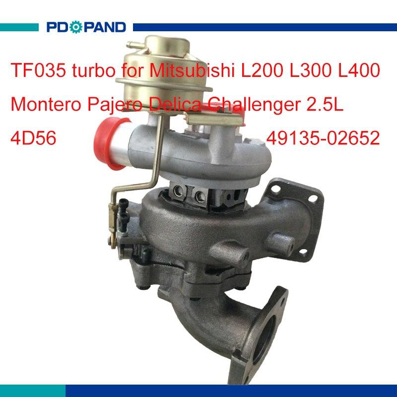 Moteur turbo partie TF035 compresseur turbolader turbine MR968080 MR968081 4913502652 pour Mitsubishi 4D56T diesel 2.5L 115HP