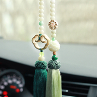 car hanging accessories,interior pendants, Bodhi, security, high end men and women, hand made retro