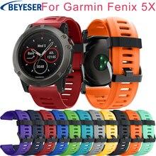 Sport Watch Strap For Garmin Fenix 5X Fenix5X Plus Band Silicone Watch band for Garmin Fenix 3 Fenix3 Watchband Wirst Bracelet цена и фото