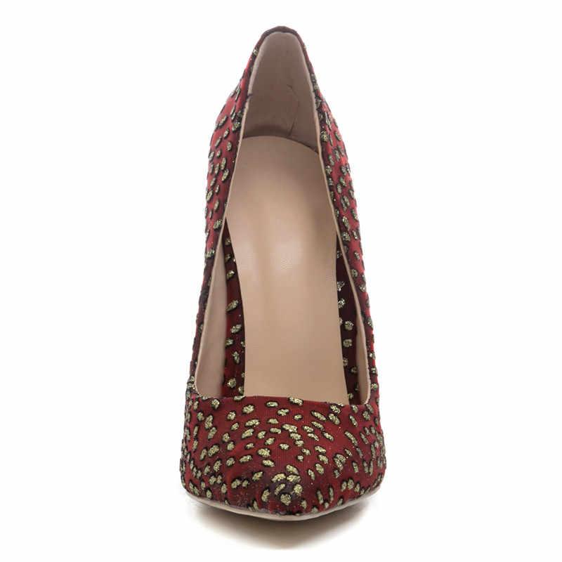 MORAZORA neue ankunft Net garn mode frühjahr schuhe frau stiletto high heels spitz frauen pumpt große größe 34- 45
