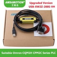 Amsamotion USB-XW2Z-200S-VH Geeignet Usb-anschluss Omron CQM1H CPM2C Serie Sps-programmierung Kabel