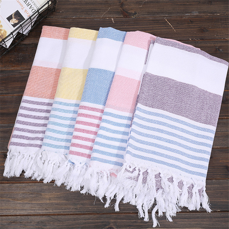 100x180cm Turkish Beach Towels For Adults 100% Cotton