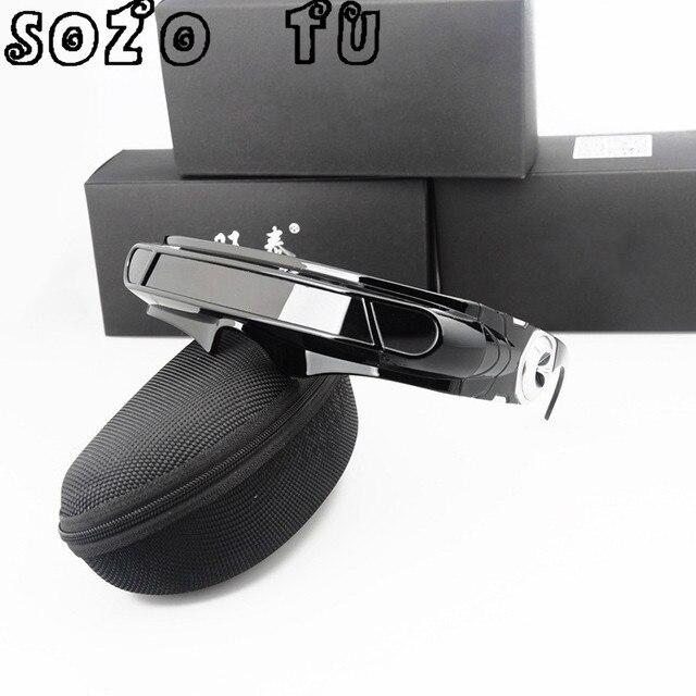 SOZO TU TR90 Spezielle Speicher materialien X-mann laser Polarisierte männer sonnenbrille Marke designer Reise Schild Sonnenbrille UV400 PC