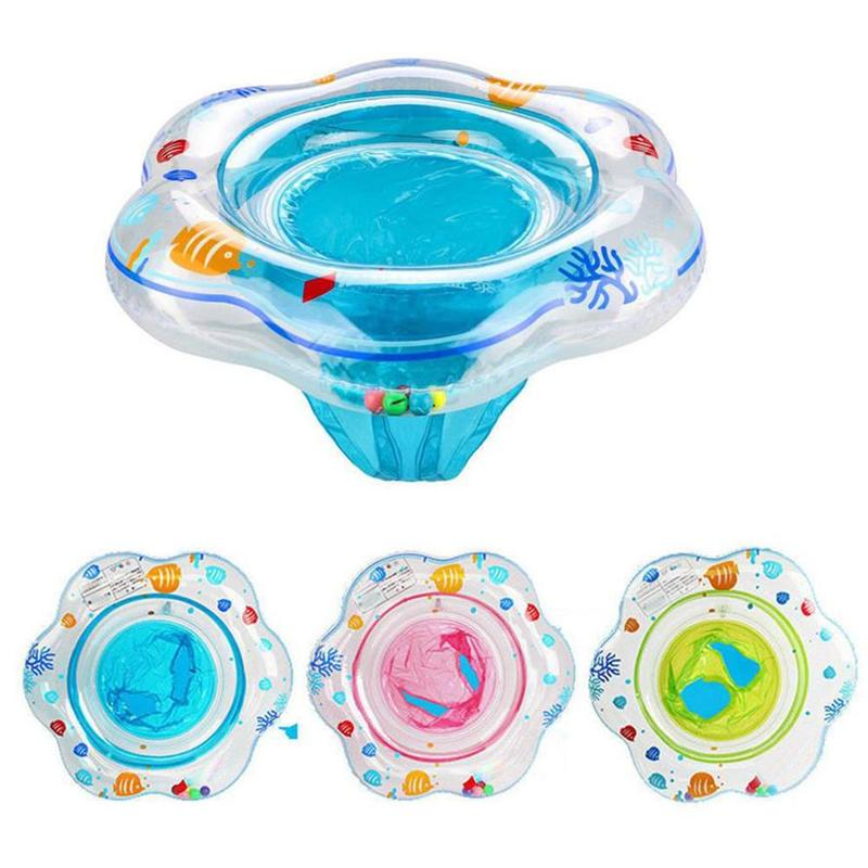 Baby Safe Swimming Ring Seat Toddler Children Circle Kids Bathing Inflatable Ring Toys Baby Pool Float Outdoor Swim Baby Circle