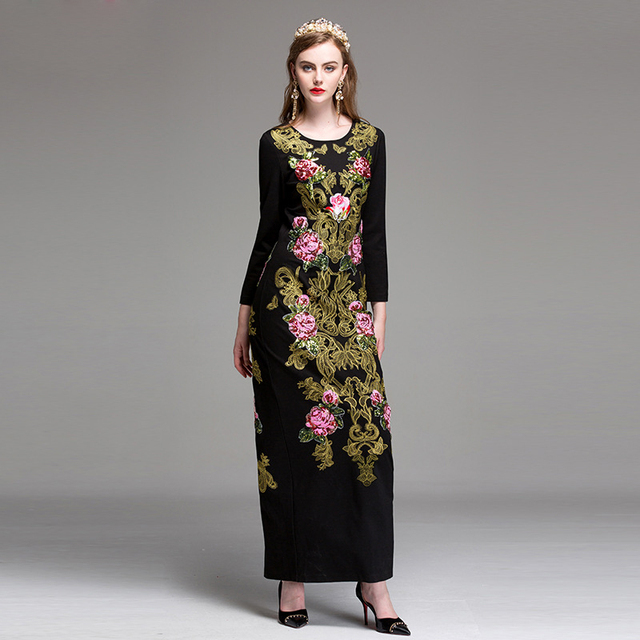 Fashion dresses for women 2018 maxi
