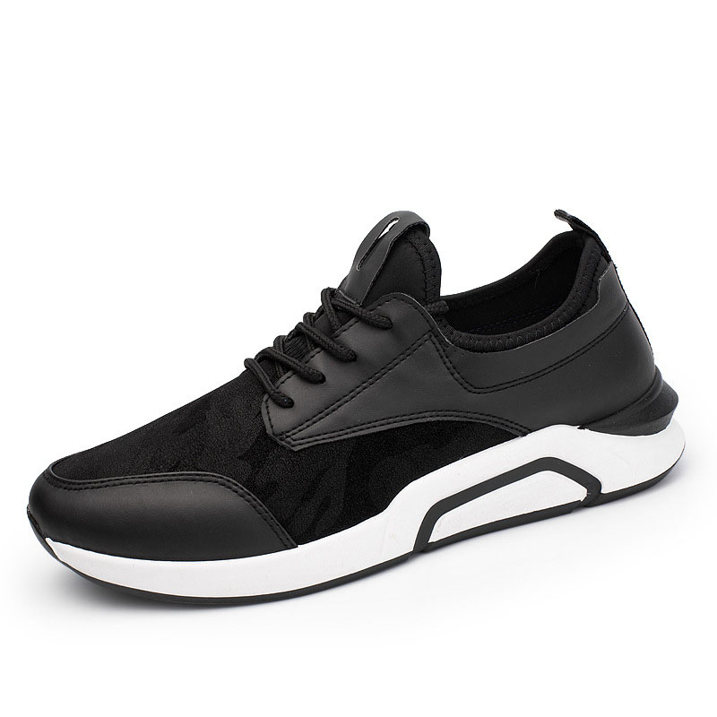 Chaussures Mx8118162 Noir Marque Luxe Casual De Pour Respirant Mode Designer En Cuir assorties Hommes rfxq1Pr