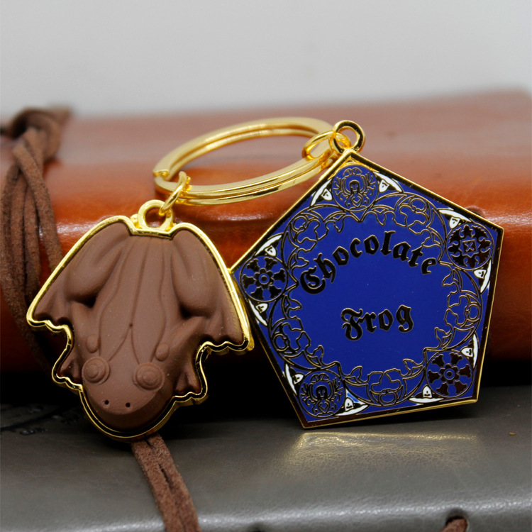 Harri Potter Hogwarts Gryffindor Prize Keychains Necklace Pendant Movie Gift Key Chains