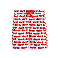 Little Maven New Summer Brand Children Cute Red Cars Printed Quality Cotton Knitted Boys Casual Loose Elastic Waist Short  Pants