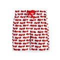 Little maven nova marca de verão crianças bonito carros vermelhos impresso a qualidade do algodão de malha meninos casual calças soltas cintura elástica calças curtas