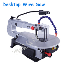 Electric Curve Saw Desktop Wire Saws DIY Wire Cutting Machine Woodworking Tools with English Manual S016