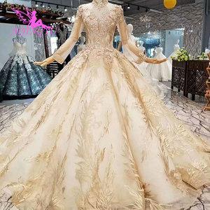 Image 5 - Aijingyu Trouwjurk Kostuum Toga Nieuwe Modieuze Twee In Een Gothic Ball Ontwerp Kopen Luxe Gown 2021 Korte Online Shop china