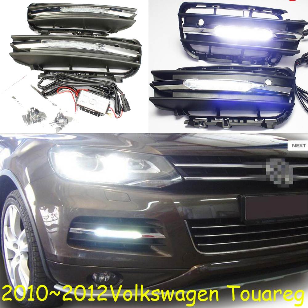 Touareg fog light,LED,2010~2012,Free ship!Touareg daytime light,Cabrio,combi,corrado,crafter,amarok,vento,vanagon,sharan,tiguan майка классическая printio tooth зуб