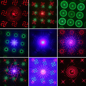 Image 5 - ALIEN Remote 128 Patterns RGB DJ Laser Projector Stage Lighting Effect Disco Club Xmas Party Holiday Show Light With 3W Blue LED