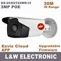Hik $ NUMBER MP cámara IP POE con cam CCTV Al Aire Libre HD 1080 P cámara ip DS-2CD2232-I5 DS-2CD2T42WD-I3 reemplazar ds-2cd2232 ds-2cd2232-i ds i5