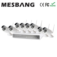 Mesbang 960P 8ch Wireless Security Camera System No Need Cable East Install Build In 1TB HDD