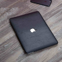 PU Leather Coated Protect Sleeve Laptop Case Cover For Macbook Pro Retina 13 15