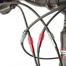 Велосипедная часть тормозной механизм горного велосипеда кабель шестерни коннектор переключения передач линия Регулировка регулятора корпус тормоза тонкой регулировки винт