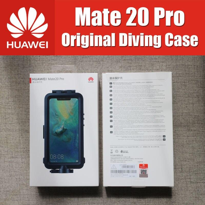Étanche étui pour huawei Compagnon 20 Pro plongée Protecteur Cas Officiel D'origine Mate20 Pro En Apnée Natation Couverture
