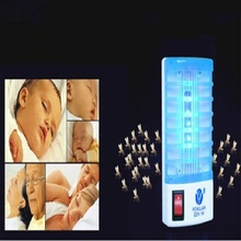 Hot Selling Mosquito Killer LED Mini Sensor Night Light 220V 1W Range Pest Bug Reject Mole Repeller Insect Repellent Home Safe