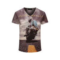 2017 Summer New 3D Print Men T Shirt Luxury Brand Fashion Short Sleeved Tshirt Homme Streetwear
