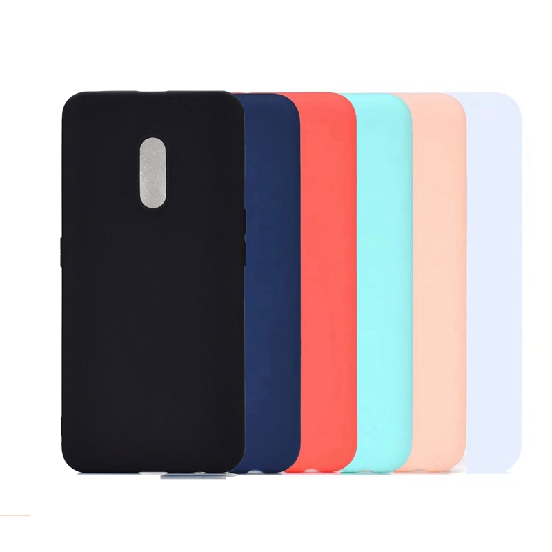 Silicone Soft candy Color <font><b>Back</b></font> <font><b>Cover</b></font> Case For <font><b>oppo</b></font> realme X 3 pro A79 R9 plus R9S F9 F7 F5 <font><b>A57</b></font> A83 A79 F11 pro ALK Phone Cases image
