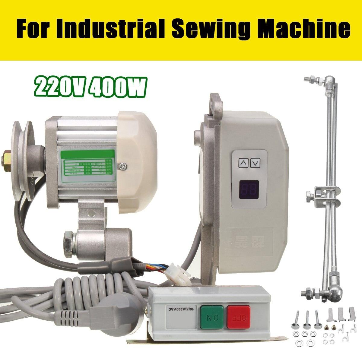 400 Вт Энергосбережение немой бесщеточный Двигатель для промышленного Вышивание машины 220 В