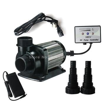1pc DCT-8000 series variable flow DC aquarium pump marine freshwater controllable sitting water pump