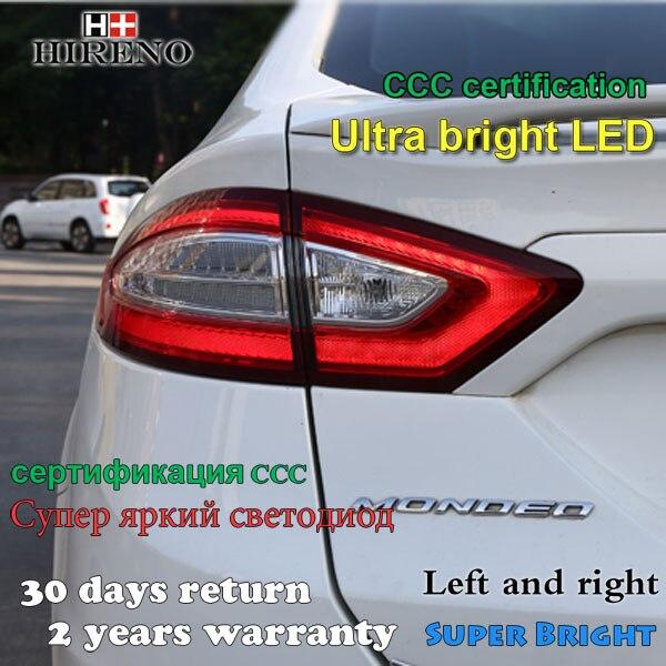 Hireno задний фонарь для Форд Мондео 2013 2014 2015 задний фонарь фонарь задний стояночный тормоз сигнала поворота света