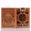 1 Cubierta de Bronce SteamPunk Cubierta De Bicicleta Naipes Poker Tamaño USPCC Limitada Edición Nueva Magia Props 81298