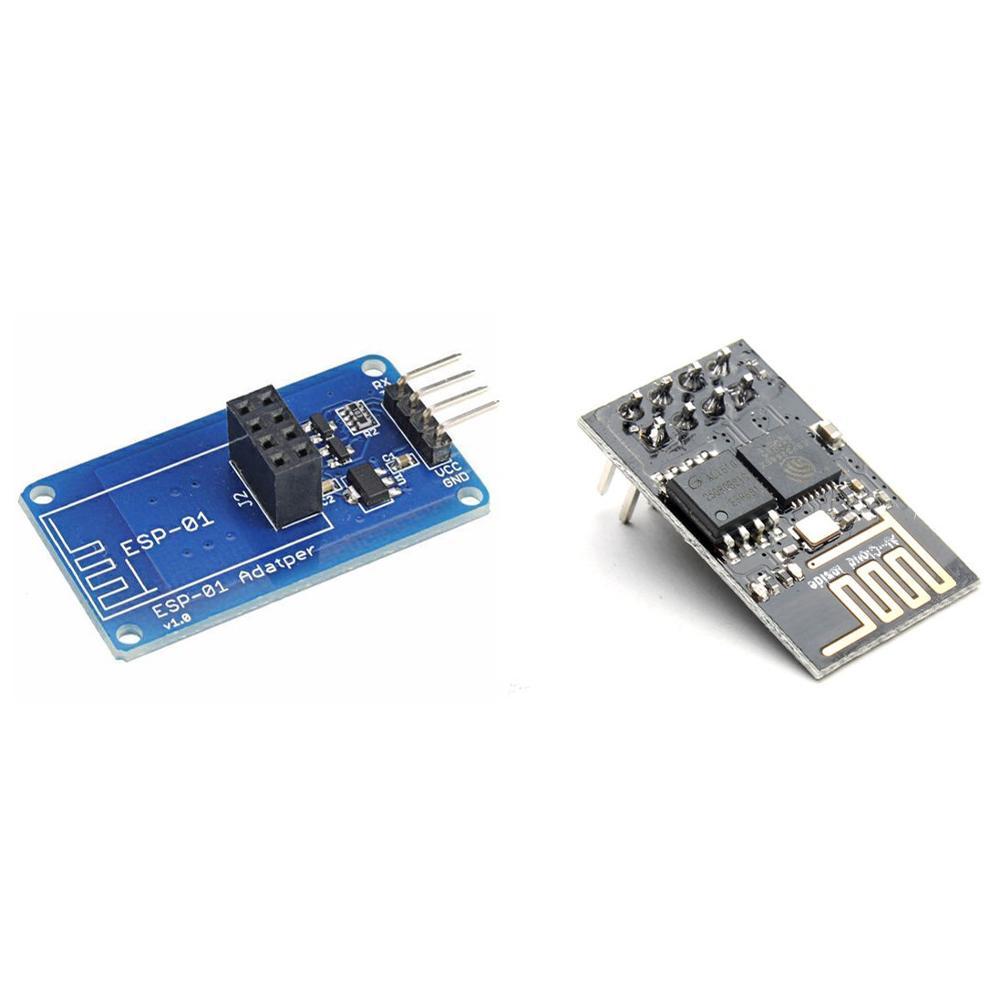ESP8266 ESP-01 WIFI Transceiver Wireless Module + Serial Wi-Fi Wireless Adapter Module For DIY esp 07 esp8266 wifi serial transceiver module