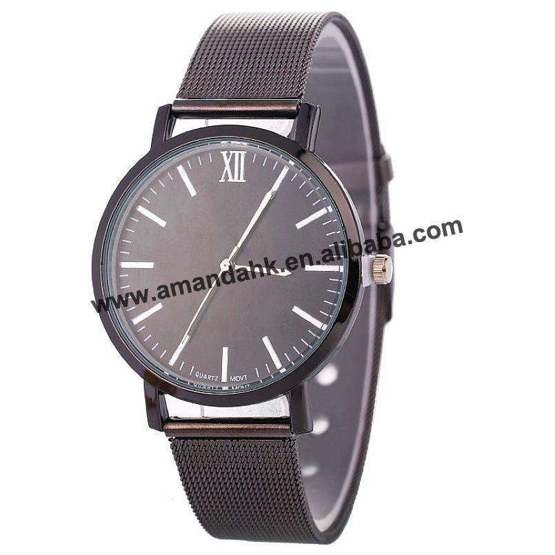 Alert New Fashion Women Alloy Mesh Watch Wrap Quartz Casual Watch Fashion Young Man Women Dress Watches Watches