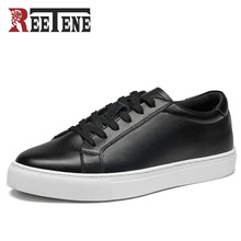 REETENE 2017 New Arrival Men'S Casual Shoes Spring Fall Leat