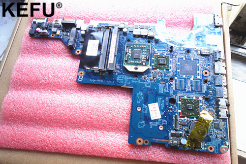 592809-001 DA0AX2MB6E1 Laptop Motherboard Suitable For HP CQ62 G62 CQ42 G42 Notebook PC Mainboard + Cpu Free
