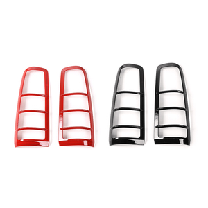 Image 2 - SHINEKA Car Styling Rear Light Hoods Decoration Cover Trim Tail Lamp Guards Sticker Fit ABS For Suzuki Jimny 2007+