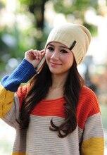 Hot sale 2015 fashion hat winter hat women hat hat knitted winter women free shipping 8 colors WL4159
