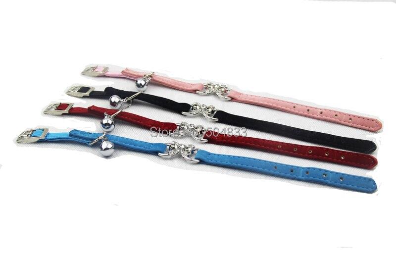 Ошейник для котенок щенок собачка ошейники с эластичным поясом безопасности 4 цвета XS