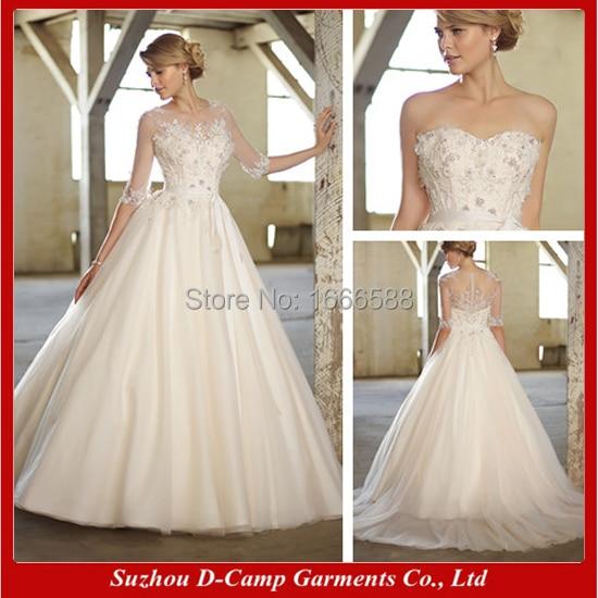 Amazing Free Shipping WD 1649 Latest Design Detachable 2 In 1 Wedding Dresses Ebay  Wedding Dresses