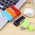 1 шт. Все в Одном Портативный USB 2.0 Multi Памяти Multi Flash Card Reader Адаптер Для SD TF M2 MS Подключи и играй